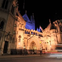 Royal Courts of Justice on the Strand