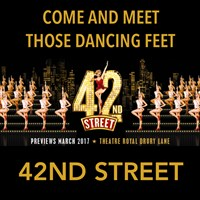42nd Street at the Theatre Royal